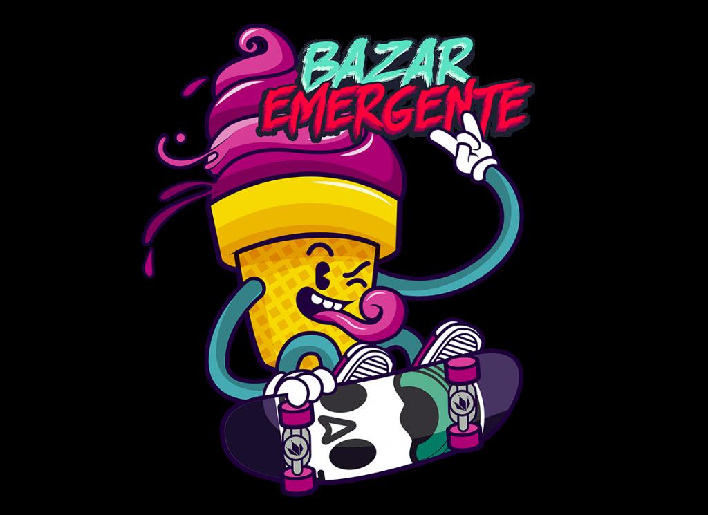 bazar emergente logo 2019